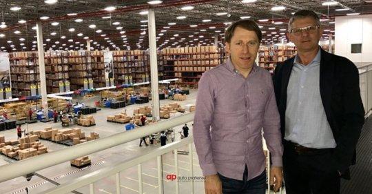 Visita ao novo Centro Logístico da Bosch em Itupeva-SP