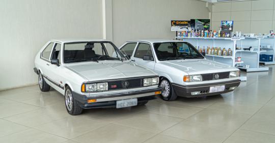 Passat GTS 1983 e Gol CL 1993